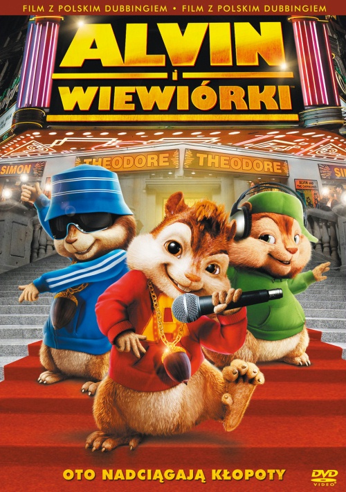 Alvin i Wiewiórki / Alvin and the Chipmunks (2007) DVDRip *LEKTOR PL*